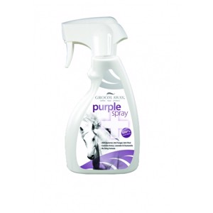 Horseware Groom Away PURPLE SPRAY