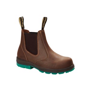 Montar Light Steeltoe Brown med Syrefast Bund 7006