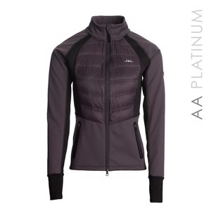 AA PLATINUM IMOLA PADDED softshell DARK  CHARCOAL