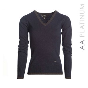 AA Platinum Asti V-Neck Sweater