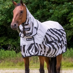 Bucas Buzz-Off Rain Zebra